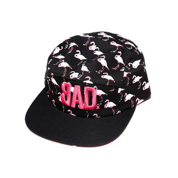 BAD Hat | Flamingos | 5 Panel Strapback