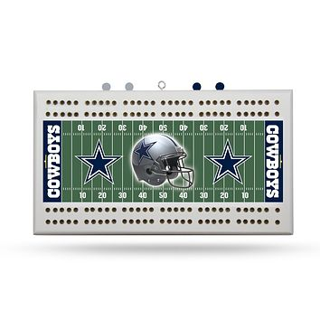DALLAS COWBOYS FIELD CRIBBAGE BOARD