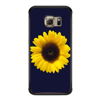 Sunflower Cute Flower d9ff48f6-3f76-4d8d-bb56-bfbfe4c28133 FOR SAMSUNG GALAXY S6 EDGE CASE**AP*