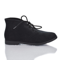Play Almond Toe Lace Up Low Heel Ankle Sneaker