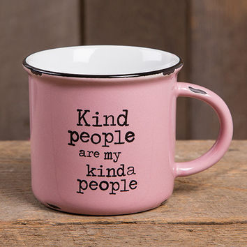 Kind People Camp Mug by Natural Life