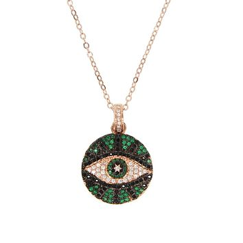Green Eye Pendant