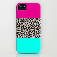 Leopard National Flag iPhone & iPod Case by M Studio