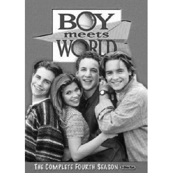 """Boy Meets World Tv Poster Black and White Poster 24""""x36"""""""