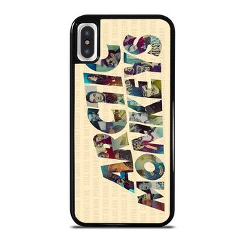 ARCTIC MONKEYS CHARACTERS iPhone X Case Cover