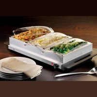Nostalgia Electrics BCD992 3-Section Buffet and Warming Tray
