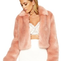 Can't Fur-get Me Jacket - Outerwear - Womens