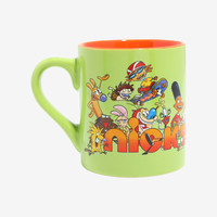 Nickelodeon Retro Group Ceramic Mug