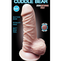 "Skinsations Cuddle Bear 5.5"" Dildo"