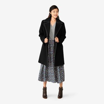 Kate Spade Saturday Piped Overcoat