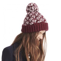 Sole Society Chunky Mixed Knit Beanie