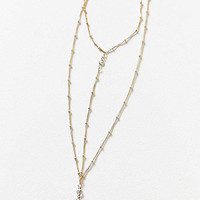 Elise Delicate Lariat Necklace | Urban Outfitters
