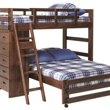 Tucker Twin over Full Storage Loft Bed