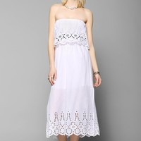 Little White Lies Jamie Strapless Dress - Urban Outfitters
