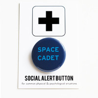 SPACE CADET - Social Alert Button