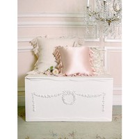 Shabby Cottage Chic Storage Bin with 3 Compartments - Chests - FURNITURE