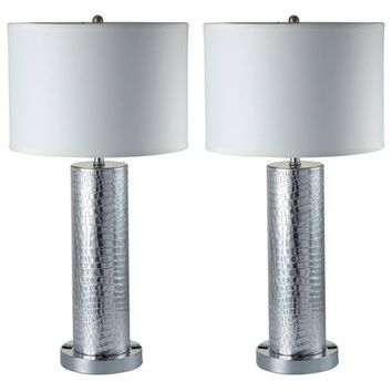 Milton Greens Riomata Table Lamp - Set of 2 - Walmart.com