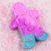 The Gingerbread Man Bath Bomb