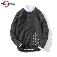 2017 Autumn Winter New Men's Sweater Pullover knitted Fashion Casual Christmas Sweater Men pull homme Sweater Male sweter hombre