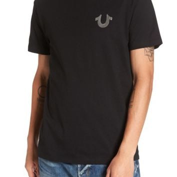 True Religion Brand Jeans Gold Buddha Graphic T-Shirt | Nordstrom