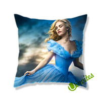 Cinderella 2015 Square Pillow Cover