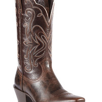 Ariat Legend Chocolate Chip Cowgirl Boots - Snip Toe - Sheplers