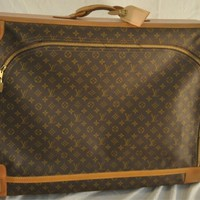LOUIS VUITTON French Company Monogram Travel Luggage
