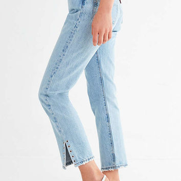 Levi's 501 Skinny Jean – Eye For An Eye   Urban Outfitters