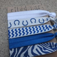 Indianapolis Colts Game Day Hair Tie Set - 5 Pack