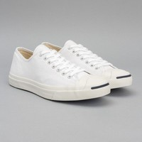 Converse Jack Purcell Canvas (White) | Oi Polloi