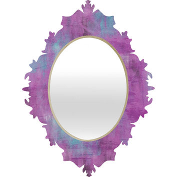 Allyson Johnson Purple Paint Baroque Mirror