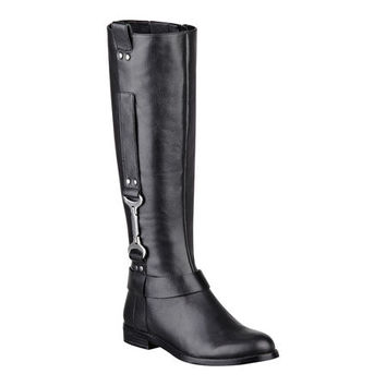 Nine West: Avonna Leather Riding Boots
