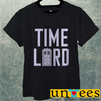 Doctor Who Tardis Doctor Who Time Lord Men T Shirt