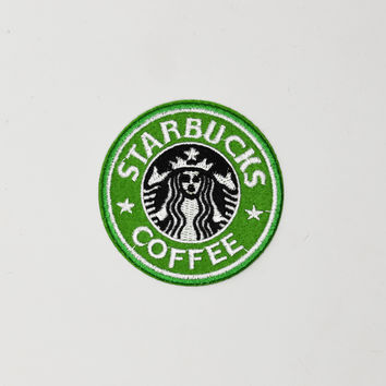 Starbucks Iron-On Patch