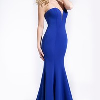 Strapless Royal Dress 24994 - Prom Dresses
