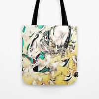 Half & Half 01 Tote Bag by darcyarts