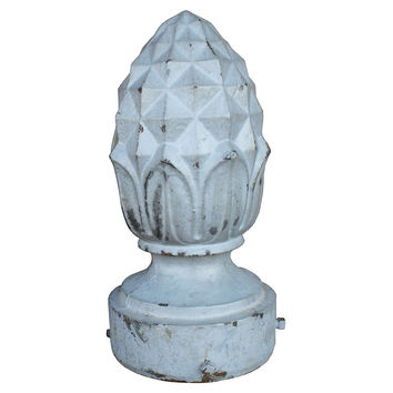 Cast Iron Pinecone Finial