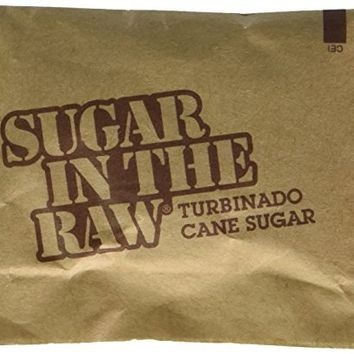 Sugar in the Raw / Raw Sugar Natural Cane Turbinado from Hawaii (750 count)