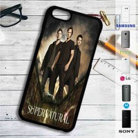 Supernatural Characters iPhone 4/4S 5 S/C/SE 6/6S Plus 7| Samsung Galaxy S4 S5 S6 S7 NOTE 3 4 5| LG G2 G3 G4| MOTOROLA MOTO X X2 NEXUS 6| SONY Z3 Z4 MINI| HTC ONE X M7 M8 M9 M8 MINI CASE