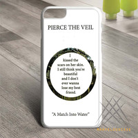 Pierce The Veil Song Lyrics Custom case for iPhone, iPod and iPad