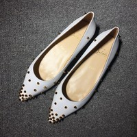 Cl Christian Louboutin Flat Style #719