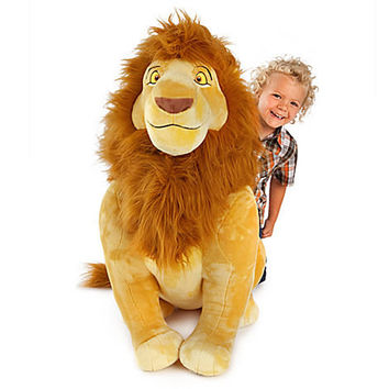 Disney Mufasa Plush - The Lion King- Jumbo 34'' | Disney Store