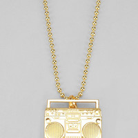 Urban Outfitters - Flud Boombox Necklace
