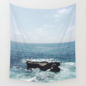 Ocean Rock Wall Tapestry by Brian Biles | Society6