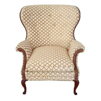 Pre-owned Vintage Thomasville Wingback Chair