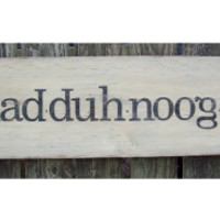 Chad*duh*noog*uh sign [CHAD] - $59.95 : The Black Sheep Primitives