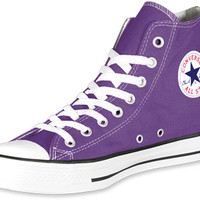 Converse All Star Hi shoes purple