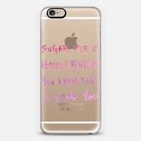 Sugar Pie Honey Bunch iPhone 6 case by Compass Paper Co | Casetify