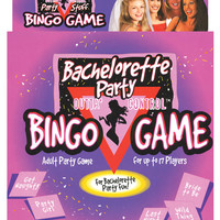 Bachelorette Party Bingo Game