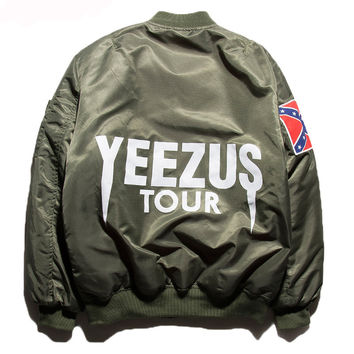 Yezzy Bomber MA1 Military Air Force Jacket